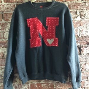 Nebraska sweatshirt size small